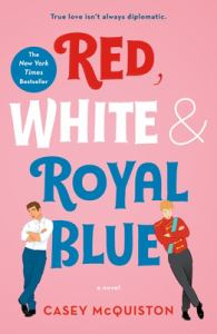 Red, White & Royal Blue (cover)