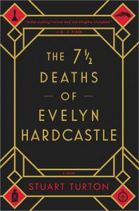 The 7 1/2 Deaths of Evelyn Hardcastle (cover)