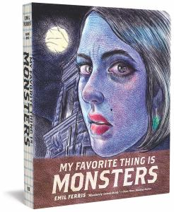 My Favorite Thing is Monsters, Volume 1 (cover)